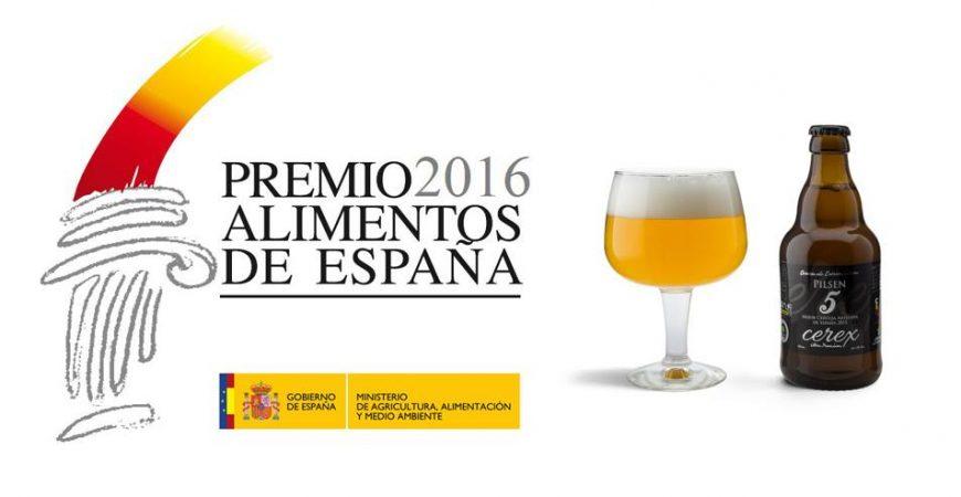 Premio_alimentos_de España_Cerveza_cerex